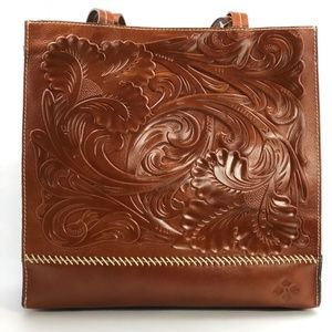 Patricia Nash Tooled Toscano Tote Florence Bag